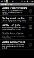 Screenshot of Crysis 2 Trophies