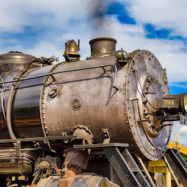 No. 734 by Robert Peterson - Transportation Trains ( cumberland, steam engine, railroad, maryland, train )