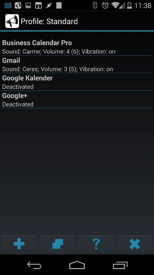 Smart Sound Profiles Screenshot 6