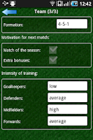 Screenshot of True Football