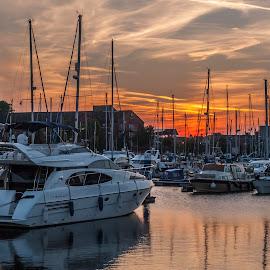 Hull Marina by David Charlton Photos - Novices Only Objects & Still Life