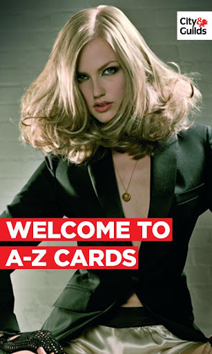 A-Z Cards: Hairdressing