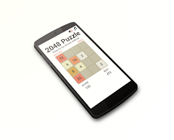 Screenshot of 2048 Swipe Puzzle
