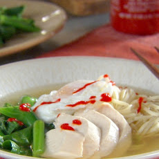 Chinese Egg Noodle Soup