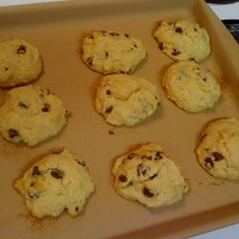 High Altitude Banana Chocolate Chip Cookies