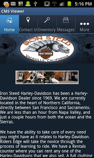 Iron Steed Harley-Davidson