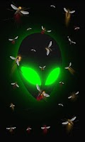 Screenshot of Alien free live wallpaper