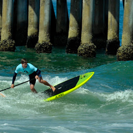Surfing by Jose Matutina - Sports & Fitness Surfing ( surfing, sports, huntington beach )