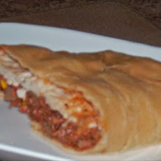 Chef Joey's Mexican Calzone (Vegan)