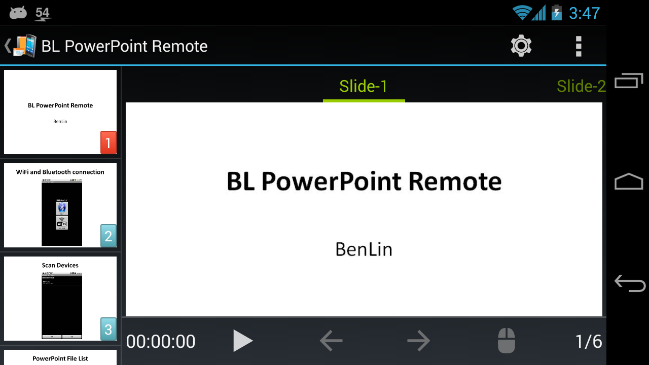 BL PowerPoint Remote - Free Screenshot 7