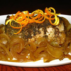 Crock Pot Orange-Herbed Pork Roast