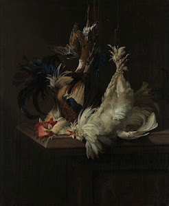 RIJKS: Willem van Aelst: Still Life with Fowl 1658