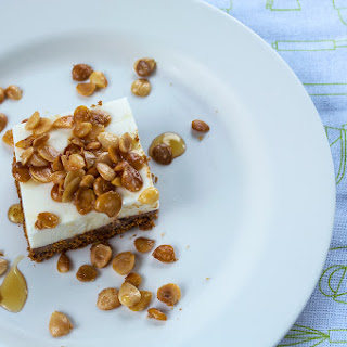 Double Layer Almond Cheesecake (No-Bake)