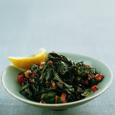 Saute-Steamed Swiss Chard