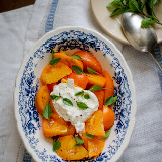 Tomato Salad with Burrata Cheese