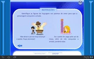 Screenshot of Linguagem Conotativa