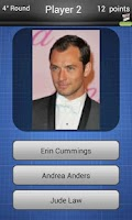 Screenshot of Actors Logo Quiz