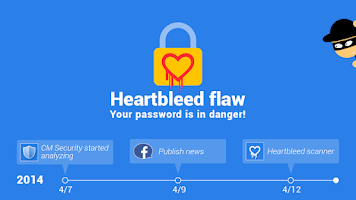 Screenshot of Heartbleed Scanner