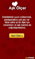 Screenshot of Aşk Ölçer