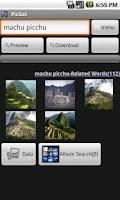 Screenshot of PicGet(Wallpaper Search)