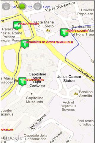 Rome Tourist Tablet GPS