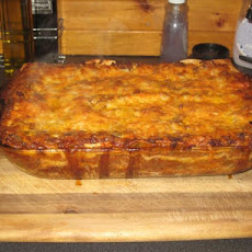 Three Cheese Beef Lasagna