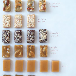Maple Walnut Spice Caramel Candies