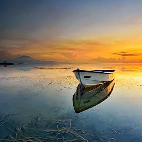 All my journey so far by Hendri Suhandi - Landscapes Sunsets & Sunrises ( shore, clouds, bali, karangbeach, indonesia, sanur, seaweed, travel, beach )