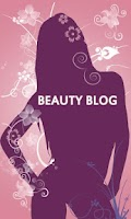 Screenshot of Beauty Blog