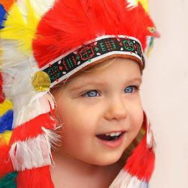 Little Chief by Lucia STA - Babies & Children Child Portraits