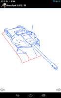 Screenshot of How to Draw World War II Tanks