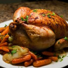 Roasted Chicken with Lemon Butter Recipe