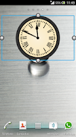 Screenshot of Classic/Vintage Clock Widget