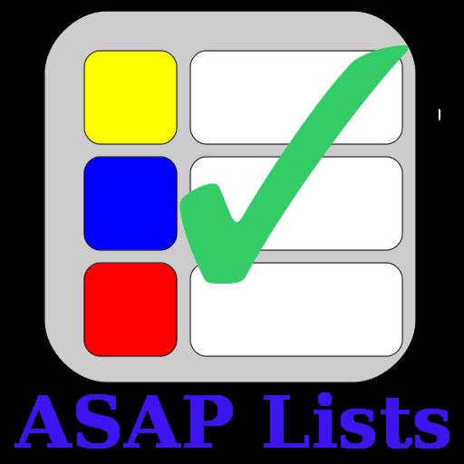 ASAP列表 LOGO-APP點子