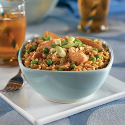 Patrick's Nutty Chicken Fried Rice