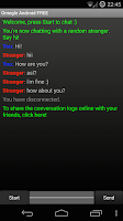 Screenshot of Omegle Android FREE