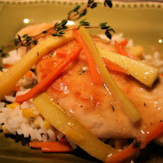 Chicken Vegetable Francese
