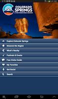 Screenshot of Colorado Springs Travel Info