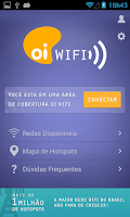 Screenshot of Oi WiFi