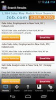 Screenshot of Ultimate Job Search