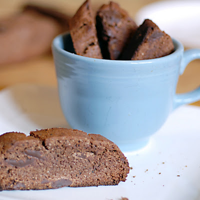 Double Chocolate Mocha Biscotti