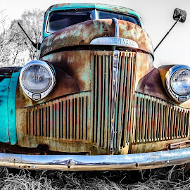 Patina Studebaker by Adam Johnson - Transportation Automobiles