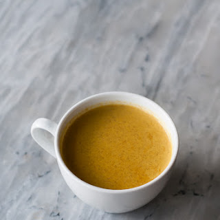 Turmeric Tea for Winter Blues + Insomnia