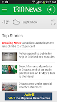 Screenshot of 1310 News