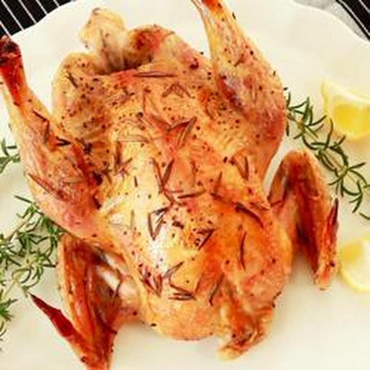 Rosemary And Lemon Roast Chicken Recipe | Yummly