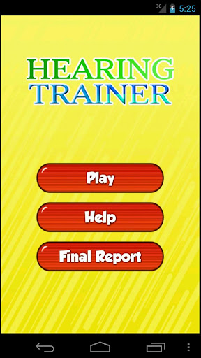 Hearing Trainer