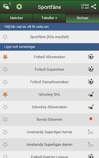 App Sportfåne - Svensk Målservice apk for kindle fire