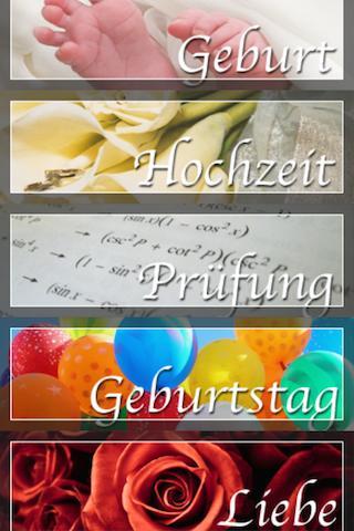 Sprueche German only