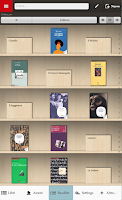 Screenshot of Bibliophilia LT- archive books