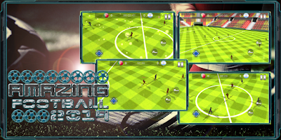 Screenshot of Amazing Football 2014
